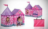 Wholesale Fairy Tale Princess Castle Childrens Indoor Outdoor Play Tent Hours of Kids Fun