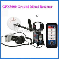 Wholesale Professional Metal Detector GPX Gold Detector Ground gpx5000 Metal Detector Gold gpx5000 Finder Metal Finder Gold Digger