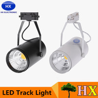 adjustable track lighting - NEW W AC85 V LM COB LED Track Light Spotlight Lamp Adjustable for Shopping Mall Clothes Store Exhibition Office