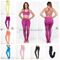 active steps - Sexy Running Tights Women Fitness Compression Pants High Elasticity Workout Gym Slim Yoga Leggings Sexy Sports Step Foot Sweatpants M440