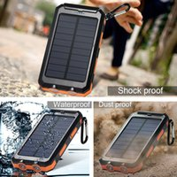 battery cells pack for laptop - 2016 HOT Solar Charger mAh Solar Power Bank Portable Battery Pack Cellphone Charger Orange