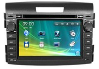 Wholesale Wince inch Car DVD Player for Honda CRV Car Electronic Car Radio With GPS CanBusBT CDC SD USB ATV RDS IPOD G SD MapFreeshipping