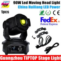 Wholesale TIPTOP New Arrival W Led Moving Head Spot Light DMX Channel Led Gobo Moving Head W Electronic Focus Facet Prism Effect V V