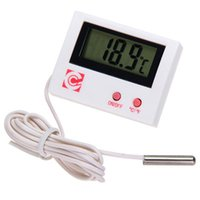 Wholesale New Arrival LCD Digital Display Thermometer White Temperature Measurement For Aquarium Vivarium
