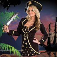 animated pirate - New Hot Sexy Pirate Cosplay Costume Halloween Women Costumes Role play Role play animated cartoon Costumes