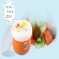 Wholesale 1 L W Electric Automatic Yogurt Maker Machine Stainless Steel Buttermilk Sour Cream Making Machine Rice Wine Natto Maker