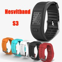 automatic messaging - Hesvitband Activity Fitness Tracker Smart Wristband Usable without Phone Bluethooth Bracelet with Automatic Heart Rate DHL OTH283