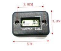 Wholesale LCD Display Digital Engine Tachometer Tacho Gauge Hour Meter For Motorcycle Boat Engines waterproof stroke use