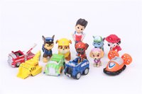 Wholesale Kids Toys Ryder Dogs Action Figures Patrulla Canina Toy Puppy Patrolling For Children Boy Little Gift Patrulla De La Pata