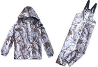 Wholesale Sets Remington Realtree AP Snow Camo Hunting Jacket Bibs Realtree Camouflage Jacket trousers Camo Hunting Suit