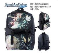 art school online - Newest Japan Korean Anime Cartoon Cosplay Sword Art Online Backpack School College Outdoor Daypack Shoulder Bag For Girl Boy Kids