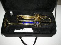 Wholesale Brass instruments Bb trumpet YTR Bb trumpet withcase