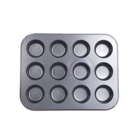 Wholesale Mini Muffin Cup Cavity Soap Cookies Cupcake Bakeware Pan Tray Mould Home DIY Cake Tool Mold