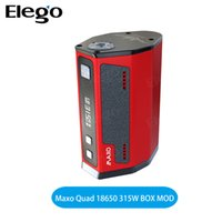 Wholesale Original IJOY Maxo Quad W Box Mod Use Batteries VS Reuleaux RX2 TC Mod IJOY Maxo
