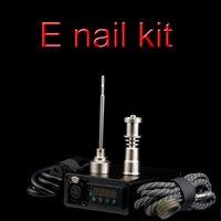 Wholesale Enail D nail Dnail electronic temperature controller box For E Nail Coil with Ti Nail for glass bong vapor