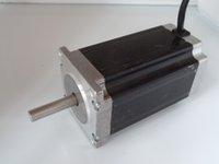 Wholesale 2pcs Hybrid nema size x57x100mm stepper motor phase degree N m torque A CNC machine motor