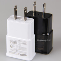Wholesale For Galaxy S7 Wall Charger Travel Adapter V A Home Plug For S6 NOTE LG HTC Huawei DHL