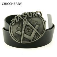 big gold belt - Men s Black PU Leather Belt Mason Metal Big Belt Buckles Western Cowboy Fivela Cintos Masculinos De Couro For Men Jeans Gifts