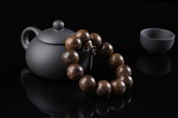 beads indonesia - Ebony fang Indonesia tiger stripes flower chi nan tan aloes tiger skin water sandalwood men and women string bracelet beads hand