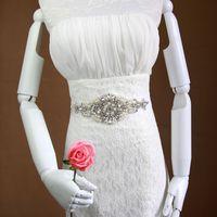 belts com - Crystal Pearl Sash Rhinestone Wedding Dress Bridal Belts Handmade Satin Ribbon Waistband cinto com pedras