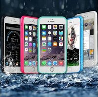 apple id phone support - 100 Waterproof Iphone case Phone Cover TPU Material Touch ID Fingerprit Support Phone accessories for Samsung S6 S7 Iphone S s plus