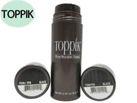 Wholesale NEW Factory g Toppik Hair Fibers Keratin Thinning Loss Concealer Hair Thicker Powder Styling colors DHL
