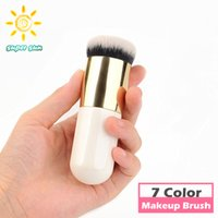 bb face powder - Large Round Head Makeup Brush BB Cream Concealer Foundation Powder Brushes Synthetic Fifber Face Cosmetic Blush Brush Make Up Beauty Tool