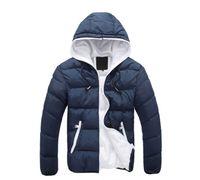 Wholesale 2016 Winter men jackets jacket warm coat Mens Coat Brand Sport Jacket Winter Down Parkas Man s Overcoat Size M XL
