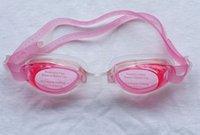 Wholesale 2016 children professional goggles waterproof goggles genuine UV comfort silicone swimming goggles2