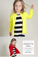 Wholesale Cheap Spring Autumn New Children Clothes Girl s Cardigan knitting Cotton Girl Fashion Outwear Sweaters MC0077
