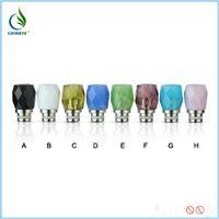 azure free - Glass azure stone drip tip mouthpiece hot sale online shopping
