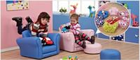 Wholesale Children s sofa chair Cartoon cute children cloth art can unpick and wash Lazy little sofa