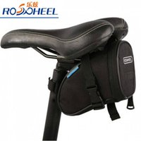Wholesale 2016 ROSWHEEL Waterproof Mountain Road Bicycle Tail Bag Saddle Bag Bike Pouch Cycling Seat Bag Black