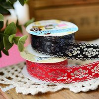 Wholesale Three year two class South Korean fresh color lace tape DIY decorative lace pocket album hand carrying tape