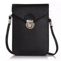 apple iphone messenger - Fashion new phone case quilted women handbag multi layer cell phone bags purse mini shoulder bag women messenger bags