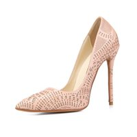 basic pump design - 2016 sexy women patent leather pumps nude high heels slip on basic pumps wedding shoes point toe brand design party shoes women