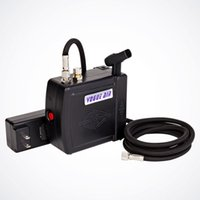 Wholesale New Black Mini Air Compressor w Air Hose Airbrush Holder Set Tattoo Nail Art