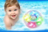 Wholesale Bath Led Light Toys Waterproof Funny Bathroom Bathing Tub LED Lights Toys for Kids Bathtub