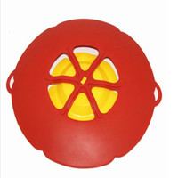 Wholesale Boil Buddies Silicone Boil Over Spill Guard Pot Pan Lid Cover Prevents Mess Brand New and High Quality