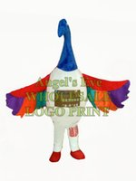 anime swan - custom rainbow swan bird mascot costume adult size cartoon birds theme anime cosply costumes carnival fancy dress for stage