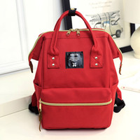 Wholesale Anello Japan Lotte Mini Backpack travel bag bag of male and female students leisure solid flow package