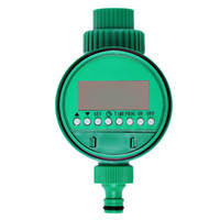 automatic water valve timer - LCD Display Automatic Electronic Water Timer Garden Irrigation Controller Solenoid Valve Digital Intelligence Watering System