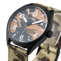 atmospheric water - Foreign trade explosion models New SINOBI Watch Men s Military camouflage simple atmospheric fashion leisure male table