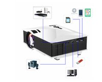 Wholesale UNIC UC46 Portable Projector Wireless Multimedia Home Cinema Mini LCD LED Projection