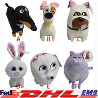 animal pets games - The Secret Life of Pets Plush Toys CM Cartoon Stuffed Animals Toys The Secret Life of Pets Plush Dolls Cartoon Plush Toy XL T109