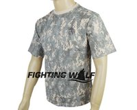 acu t shirts - Tactical Airsoft Climbing Riding T Shirt Army Short Sleeve Cotton amp Polyester Leisure Design Comfortable T Shirt Digi ACU