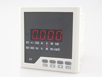 Wholesale ME D31 white Frame size mm LED display single phase multifunction meter China of high quality