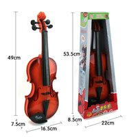 Wholesale Touch the ring eight music violin educational toys Our children s Musical Instruments