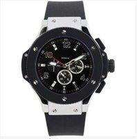 Wholesale New Luxury Men Watches Golden Case Royaloak Offshore Quartz Stopwatch Chronograph Men s Watch Original Clasp Wristwatch AAA Quality