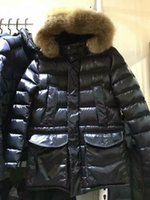 Wholesale Classic men down jackets GAZE down coats shiny black winter coats with hoody
